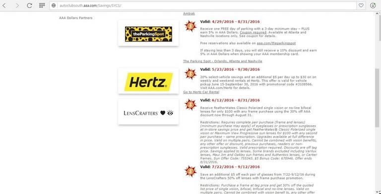 Aaa Car Rental Discount Hertz