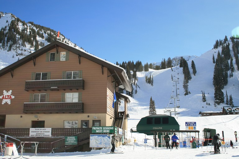 Alta Ski Resort Lodging