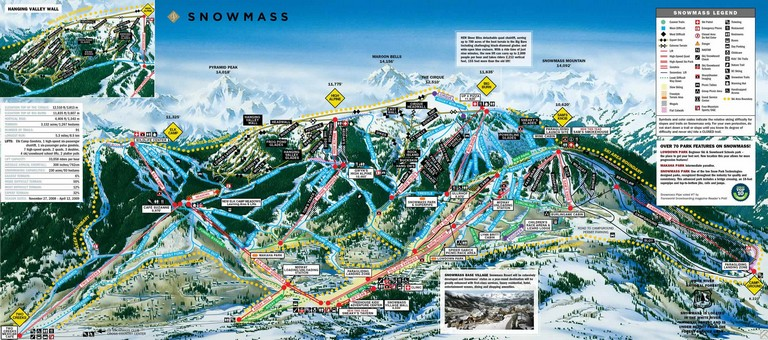 Aspen Ski Resort Map
