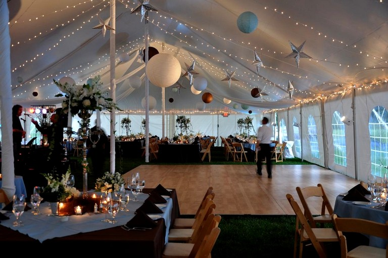 Average Wedding Tent Rental Cost