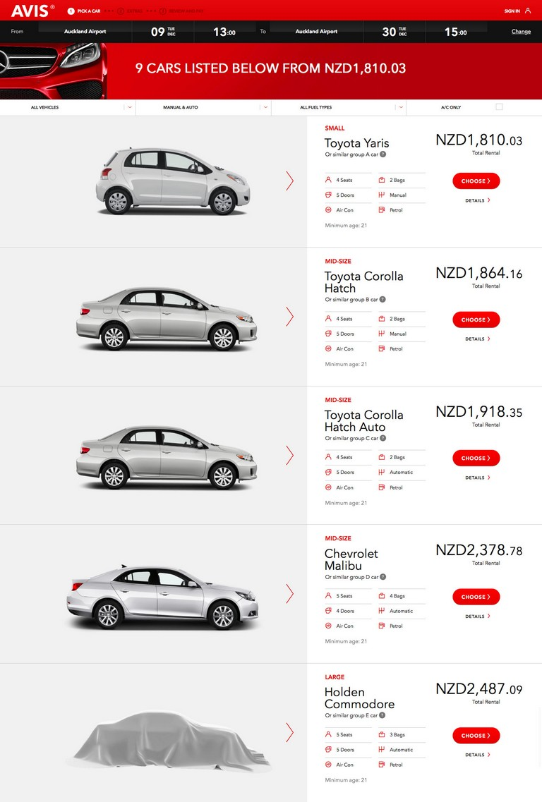 Avis Car Rental Insurance