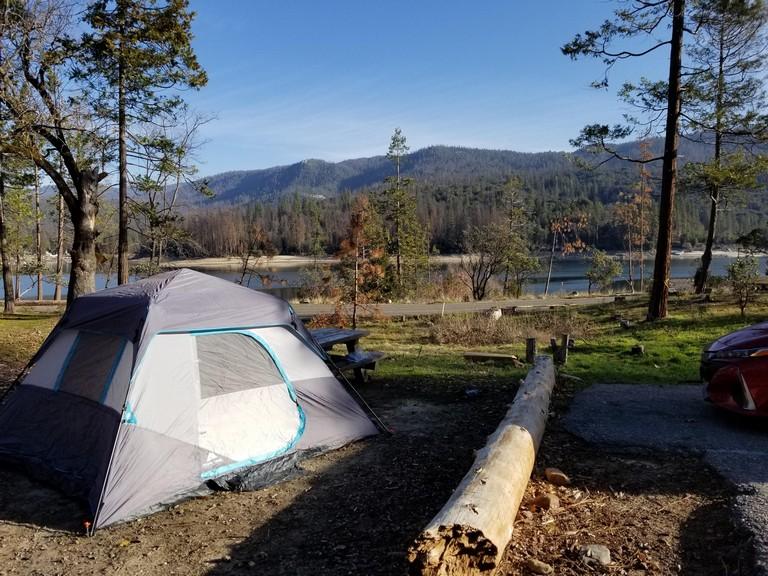 Bass Lake Camping