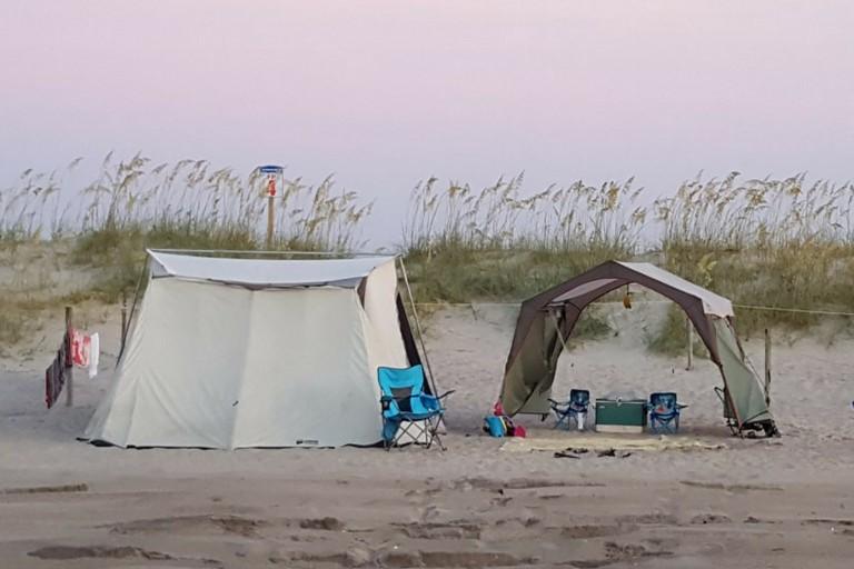 Beach Camping Nc