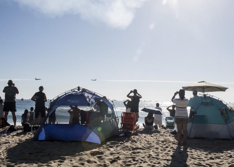 Beach Tent Camping California