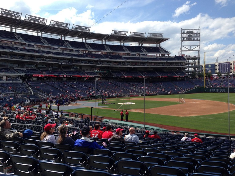 Best Seats At Nationals Park