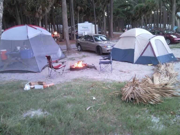 Best Tent Camping In South Carolina