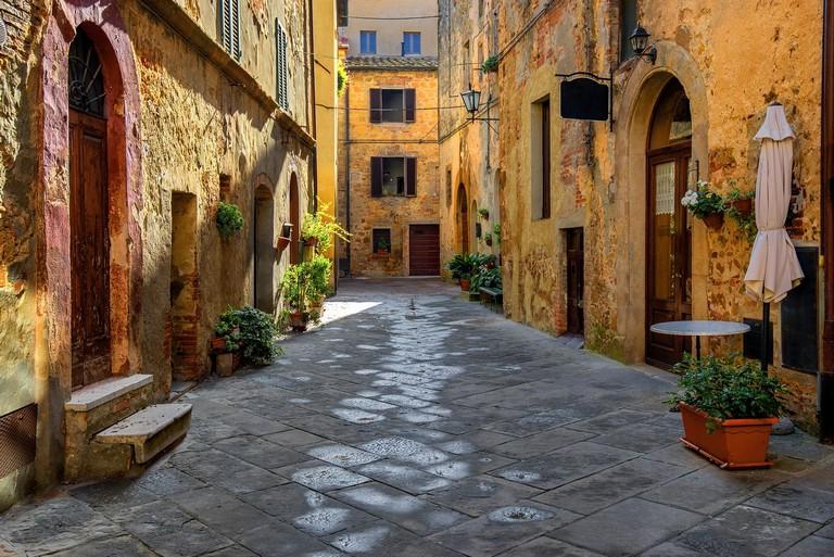 Toscania, Wochy, Montepulciano, Zauek