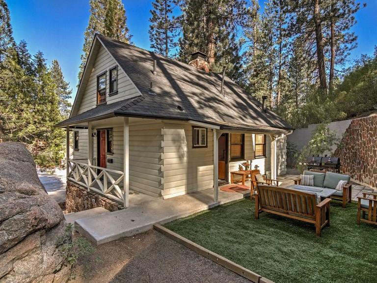 Big Bear Cabins With Hot Tub 3br Big Bear Cabin W Private Hot Tub & Sauna Fawnskin