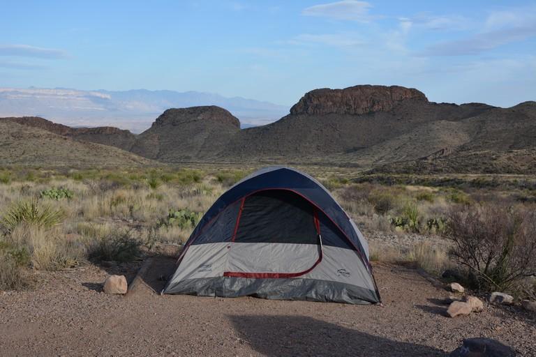 Big Bend National Park Camping