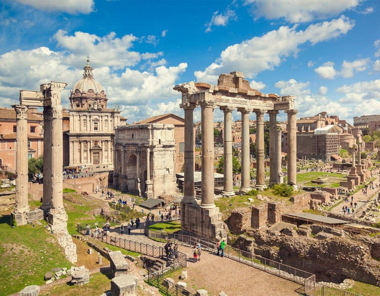 Bus Tours In Rome