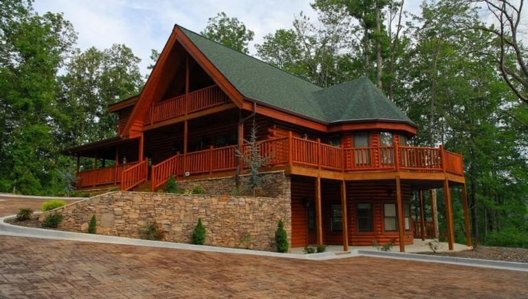 Cabin Rentals In Gatlinburg Tenn Timber Tops Luxury Cabin Rentals Gatlinburg In