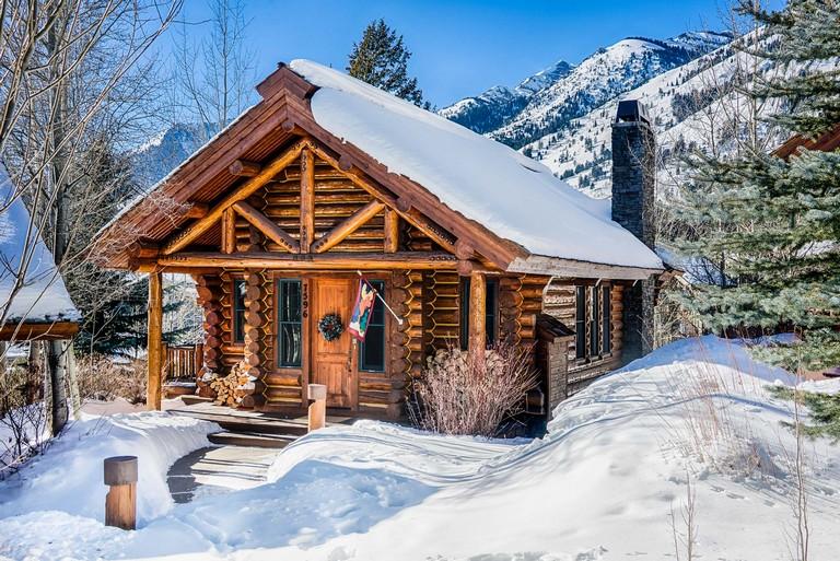 Jackson Hole Wyoming Cabins Granite Ridge Cabin 7596
