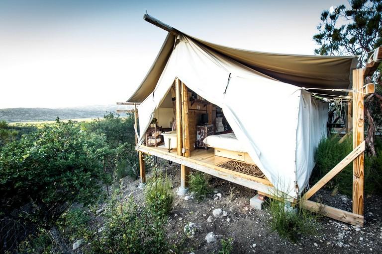 Cabins In Southern California Safari Tent Camping In California