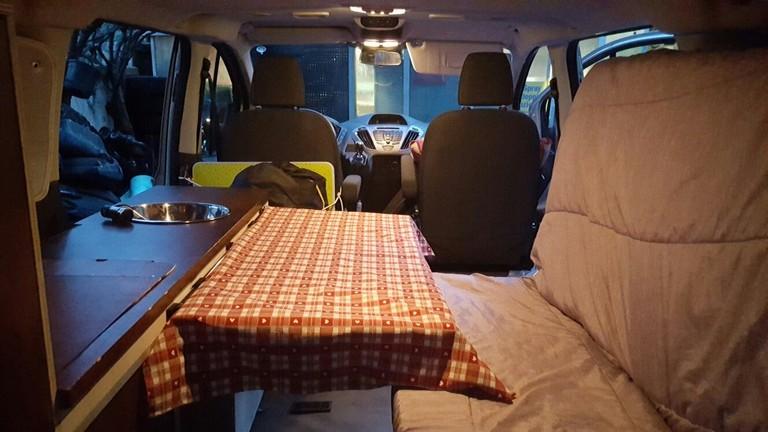 Campervan Folding Bed