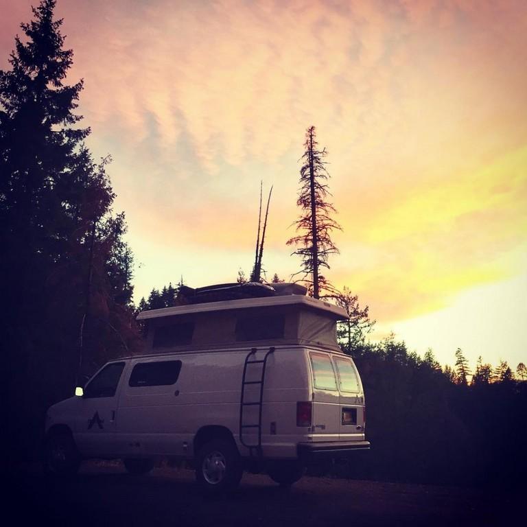 Campervan Rental Portland Oregon