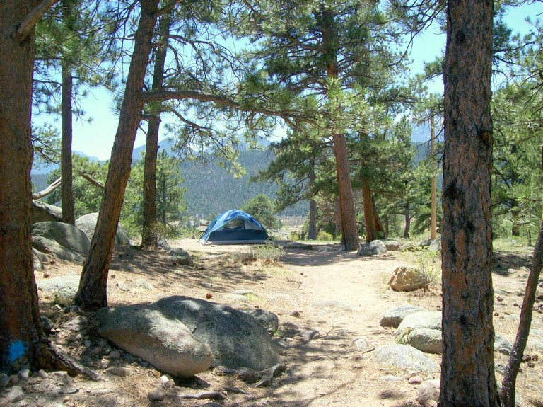 Campgrounds In Rocky Mountain National Park