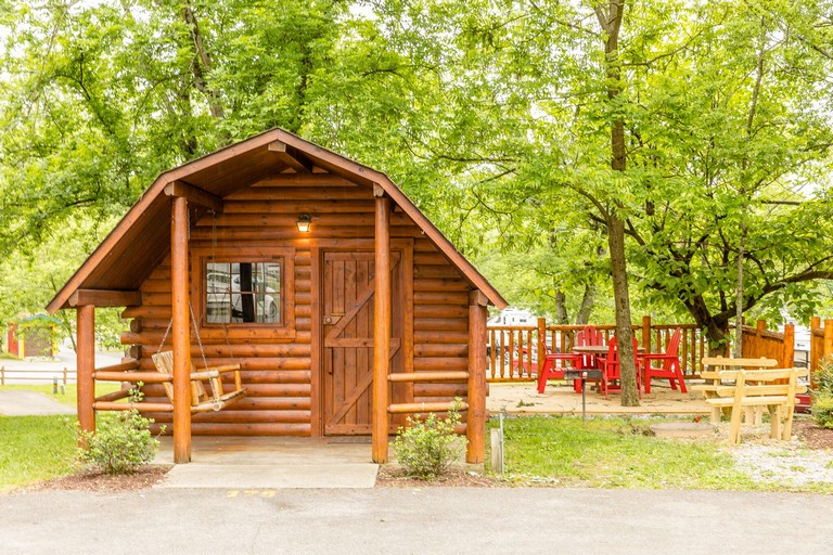 Campgrounds With Cabins In Pigeon Forge Tn New Pigeon Forge Tennessee Camping S Gallery