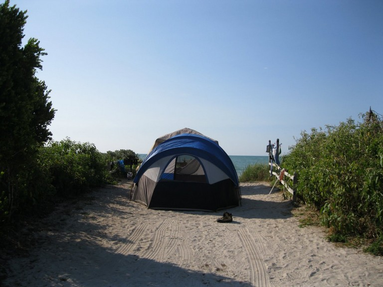 Camping In The Keys