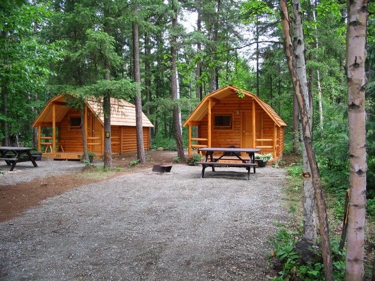 Camping Sites With Cabins