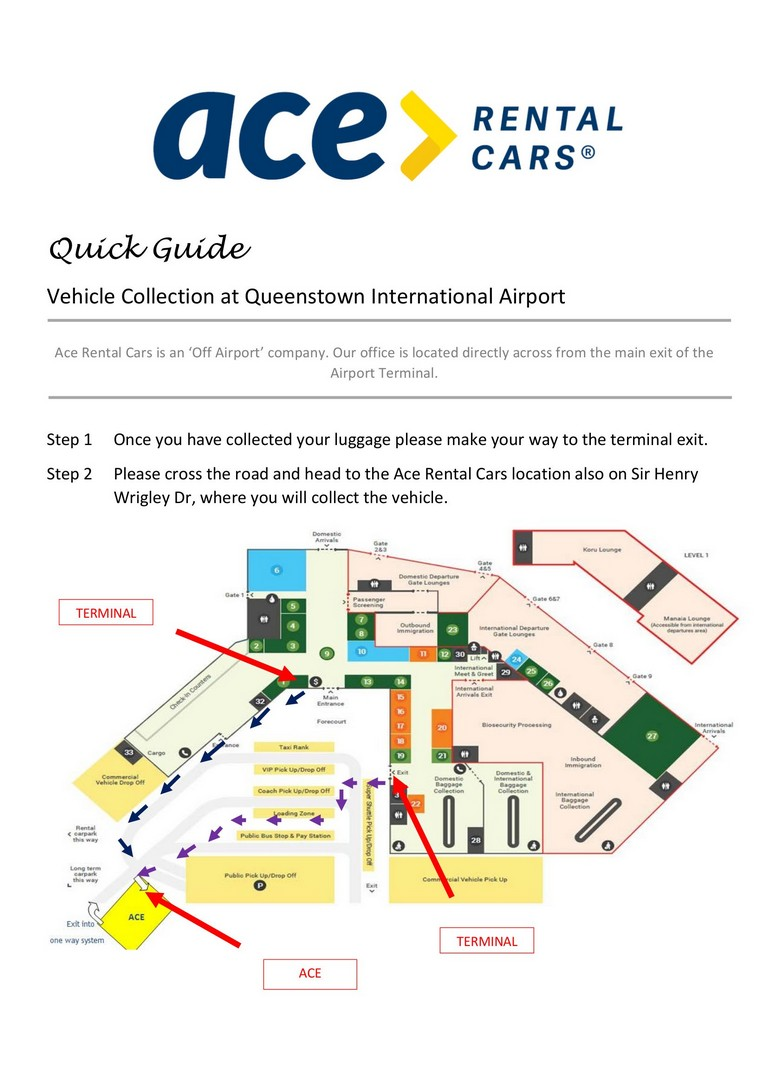 Car Rental Queenstown Airport