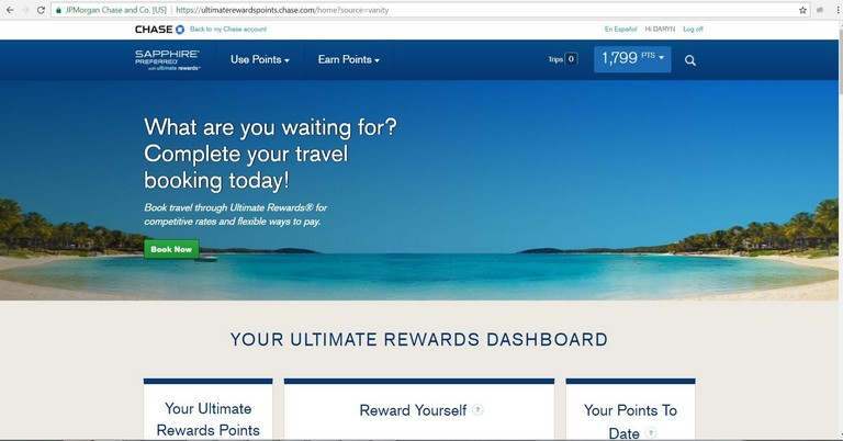 Chase Travel Plans
