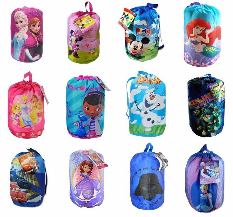 Children's Character Sleeping Bags