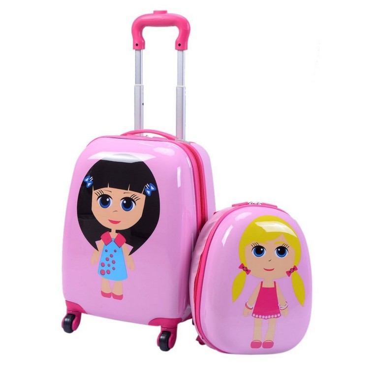 Children's Rolling Suitcase