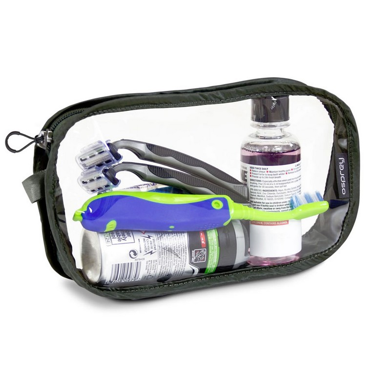 Clear Carry On Toiletry Bag