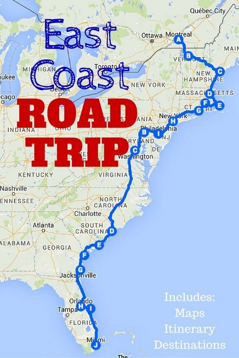 College Road Trip Planner