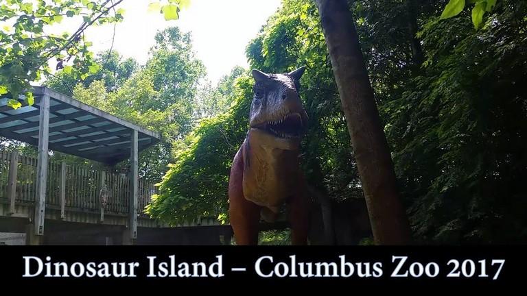 Columbus Zoo Dinosaur Island 2017