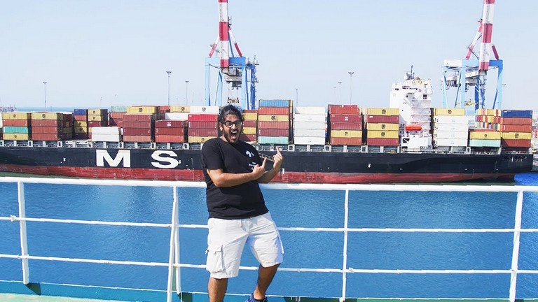 Container Ship Travel