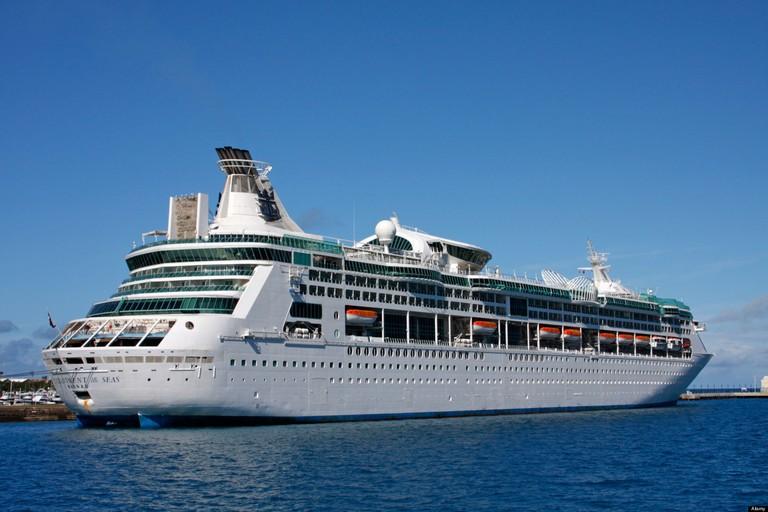 Royal Caribbean Cruise Ship Enchantment Of The Seas, Bermuda