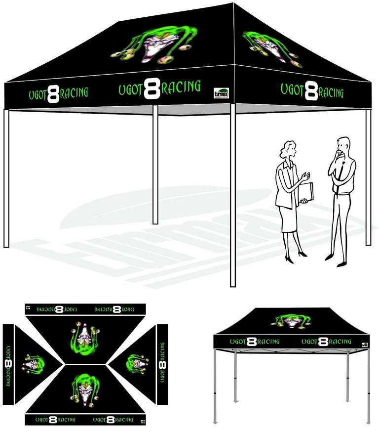 Custom Logo Tents
