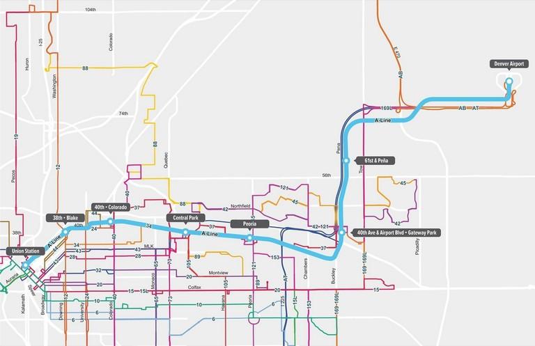 Denver Rtd Trip Planner