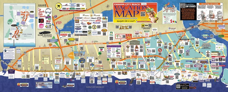 Destin Florida Map Of Hotels Driving Directions From Panama City Beach Florida To Seaford