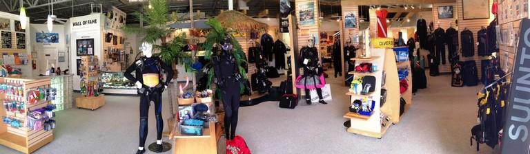 Dive Shops Near Me