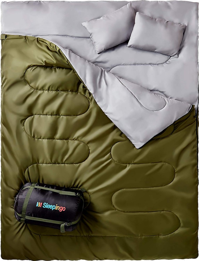 Double Sleeping Bag Backpacking