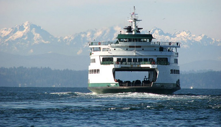 Ferry To Olympic National Park