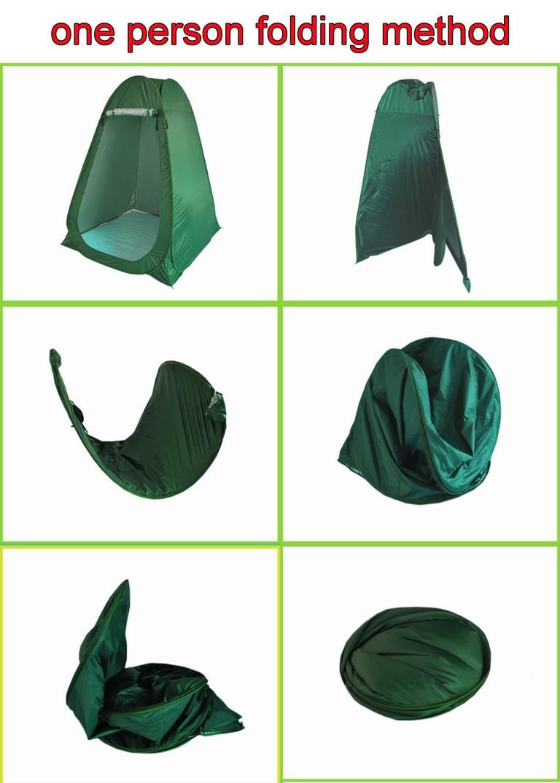 Folding A Pop Up Tent