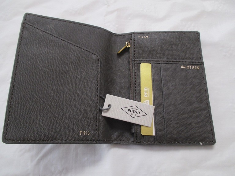 Fossil Passport Cover
