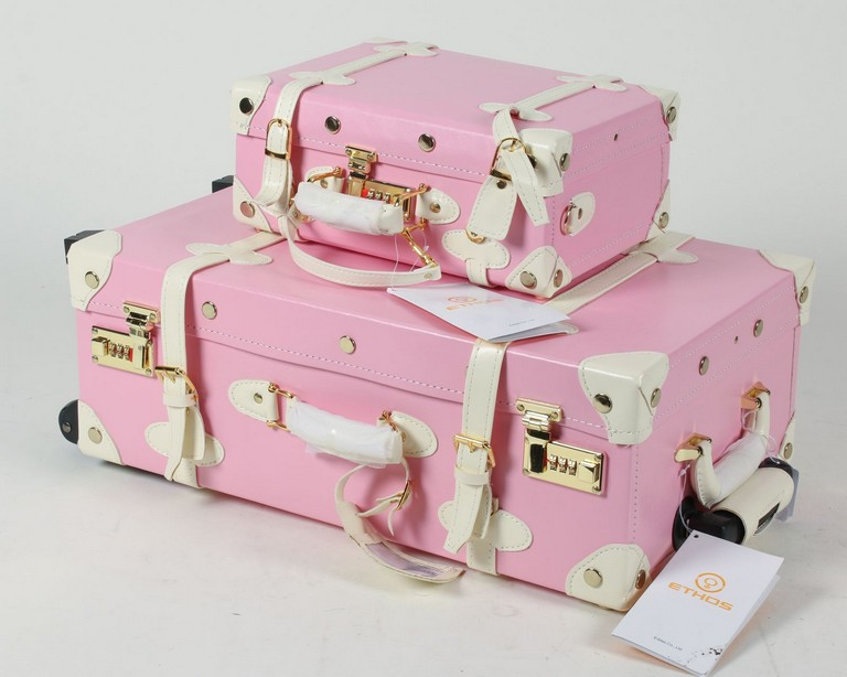 Girly Suitcases