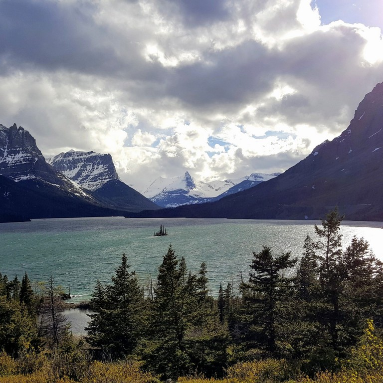 Glacier National Park In May