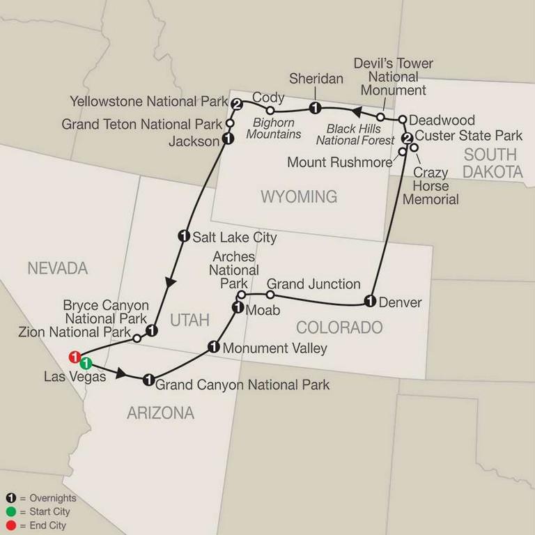 Globus National Parks Tour