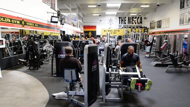 Golds Gym Venice Beach