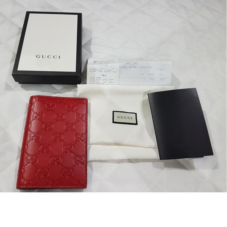 Gucci Passport Cover