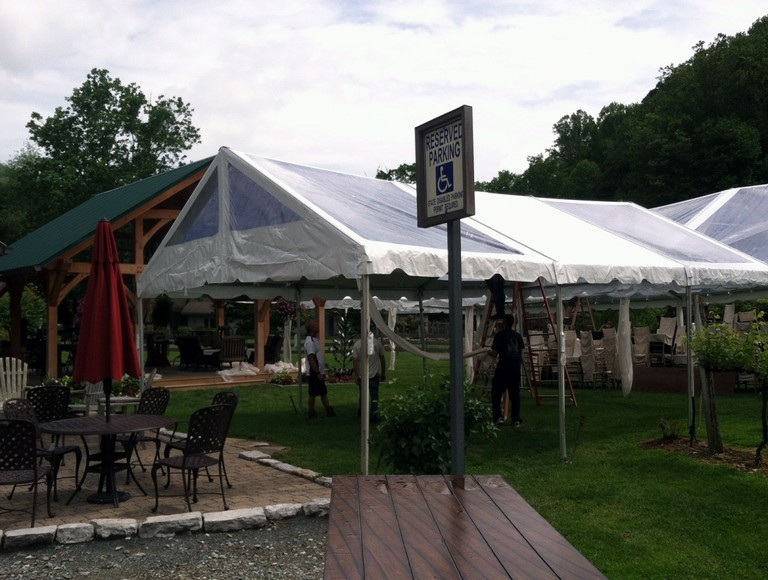 Heated Party Tent Rentals 002