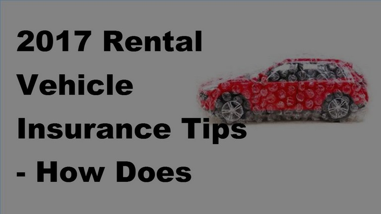 How Does Rental Car Insurance Work