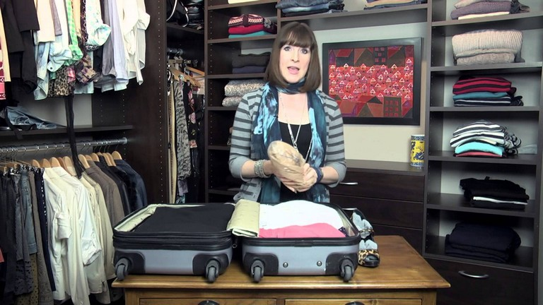 How To Pack Clothes In A Suitcase