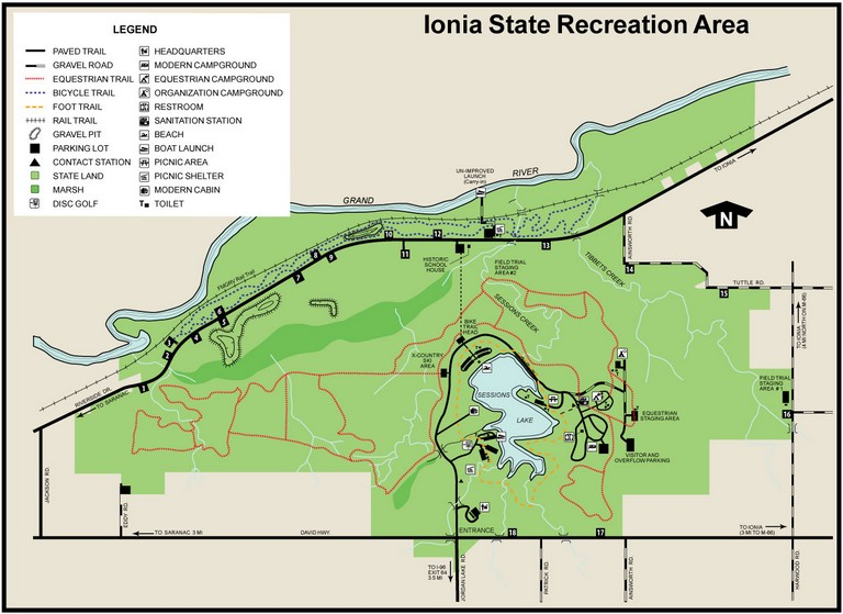 Ionia State Recreation Area
