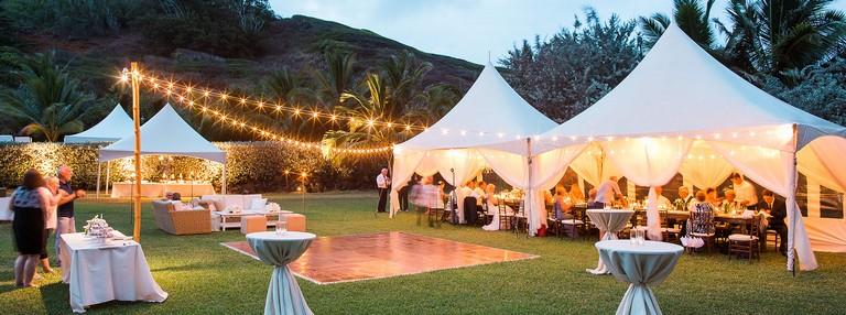Kauai Tent Rental